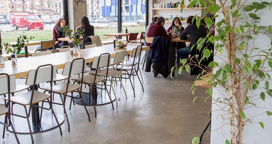 Sopa: Un restaurante vegetariano en Barcelona que hará las delicias de los niños