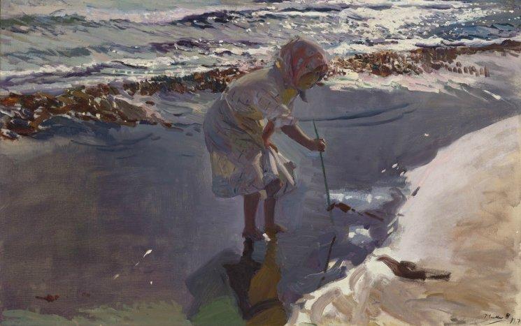 """""""Sorolla. El color del mar"""": Exposición de arte para niños en Zaragoza"""