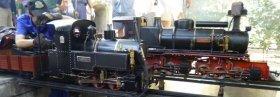 Tren en miniatura de Riba-roja de Túria