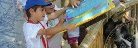 El Parque Faunia de Madrid acoge un campamento de verano para niños