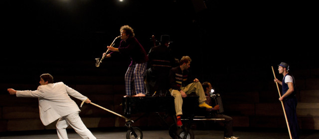 Klaxon, un espectáculo circense en Madrid
