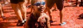 Tomatina infantil en Buñol