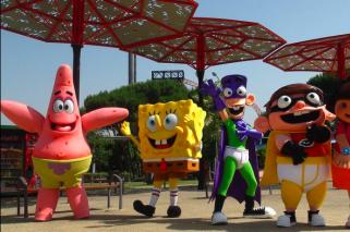 Parque de atracciones para niños, en Madrid